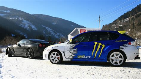 subaru wrx drifting wallpaper subaru snow drift image 451