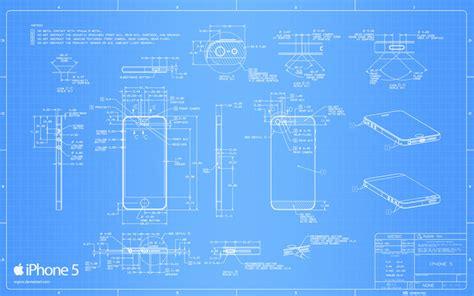 iphone 5 blueprint 2560x1600 by regivic on deviantart