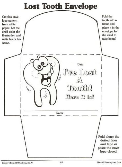 tooth card template 17 best images about tooth on