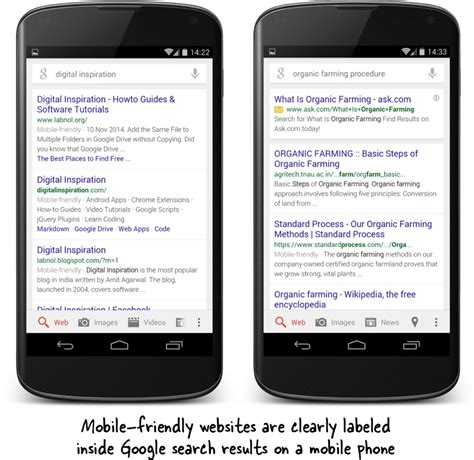 search mobile how to tell if considers your website as mobile