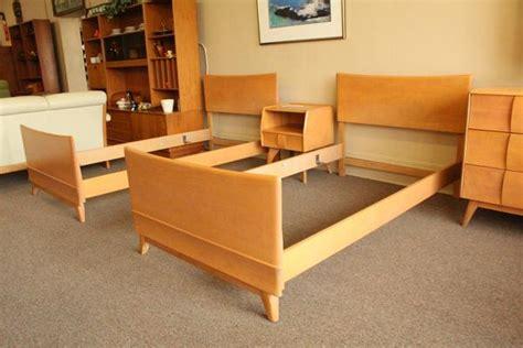 twin bedroom suite heywood wakefield twin kohinoor bedroom suite metro eclectic