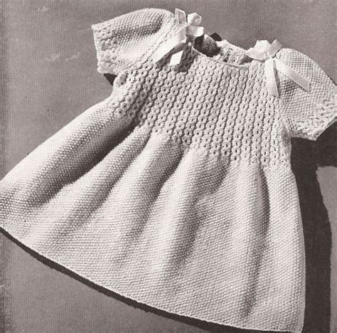knitted dress patterns for toddlers best 20 knit baby dress ideas on