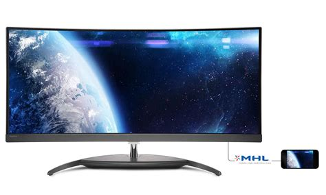 7 Lcd Computer Monitor Would Be Large For But Tiny For You by Curved Ultrawide Lcd Monitor Bdm3490uc 00 Philips