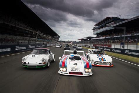 Le Mans Porsche by Le Mans Classic Gro 223 Es Porsche Aufgebot