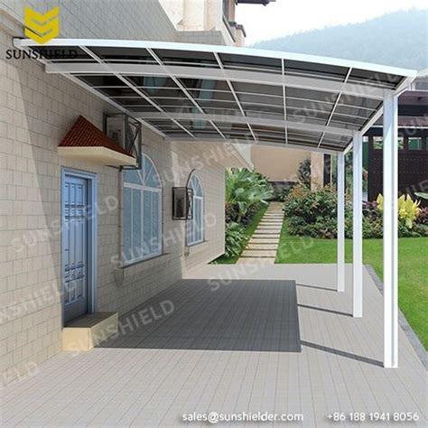 products archive patio covered aluminum patio polycarbonate roof gate cover sunshield