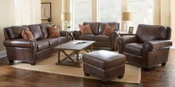 brown leather living room set living room furniture simple living room set leather