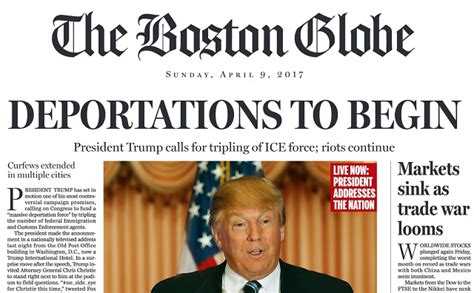 And In Hoax News by Boston Globe Goes Cuckoo Publishes 100