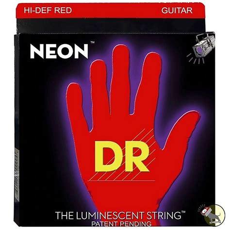 guitar strings medium vs light dr strings nre 10 k3 neon hi def coated medium