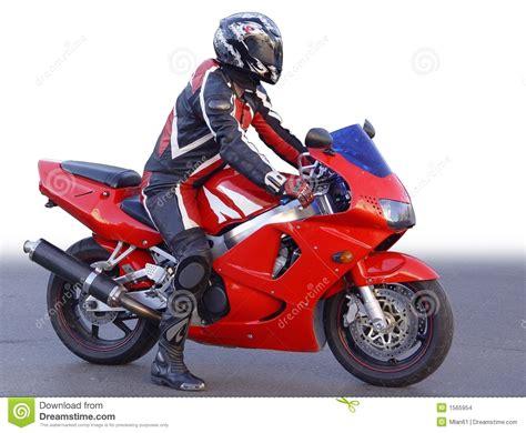 Motorrad Fahrer by Motorradfahrer Stockbilder Bild 1565954