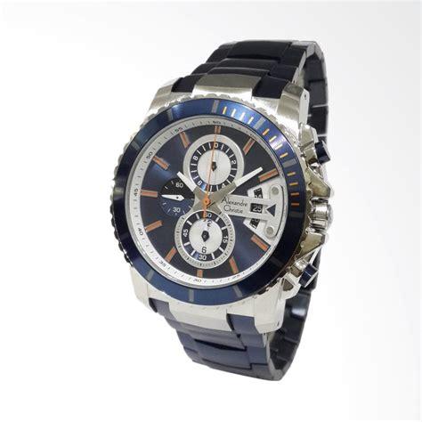 Jam Tangan Alexandre Christie 6455 Silver Green jual alexandre christie jam tangan pria silver biru