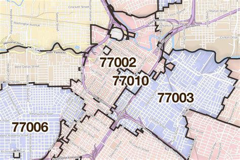 texas zip code map houston houston texas printable u s zip code boundary maps maptechnica