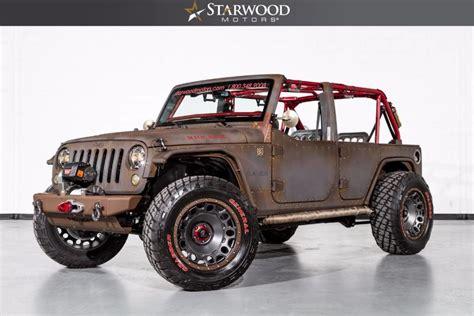 starwood motors starwood motors 2015 jeep wrangler starwood sema unlimited