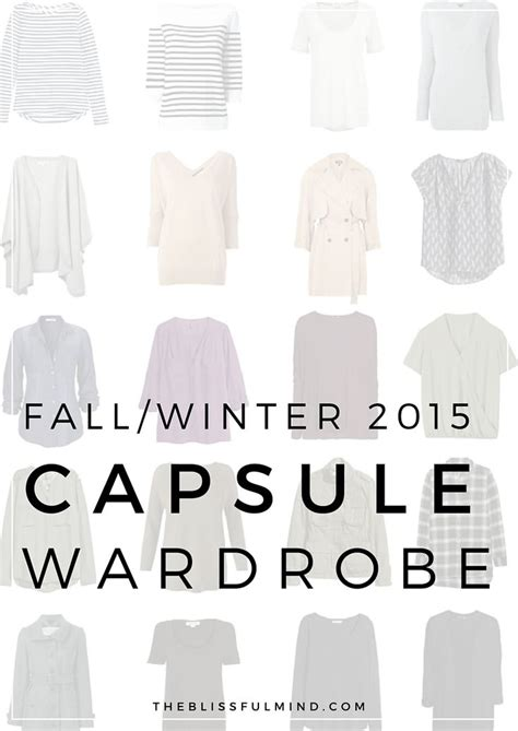 Fall Winter Capsule Wardrobe by Best 25 Combinations Ideas On Color
