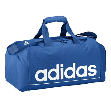 bag adidas linear ess tbs g68701 blue with white logo backpacks bags bags markartur