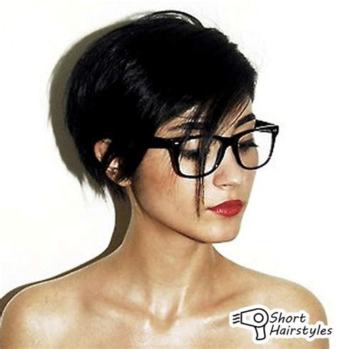 short hairstyles for glasses 17 best images about hair styles on pinterest for women