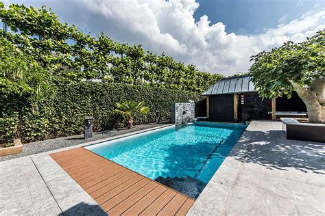 Swimming Pool Backyard Designs by Aquatic Backyard In The Netherlands By Centric Design