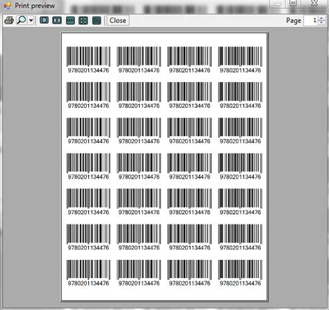 printable upc labels ean13 barcode control codeproject