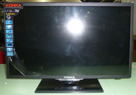 Tv Led Konka 21 Inch konka 19 quot led tv monitor with hdmi and vga input cebu appliance center
