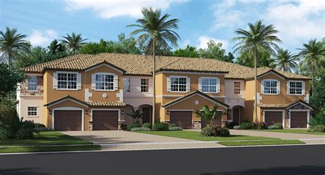 summerlin place townhomes new home community fort myers