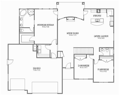 open floor plan blueprints open floor plan house plans modern house