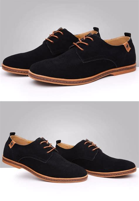 oxford shoes fashion shoes 2016 new suede genuine leather casual shoes