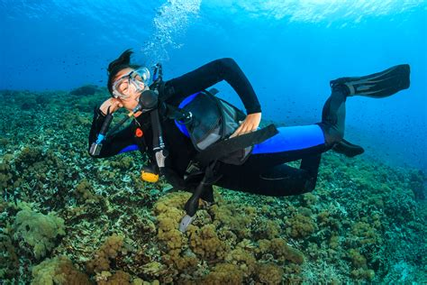 dive tanks how to use an air tank in scuba diving scuba diving