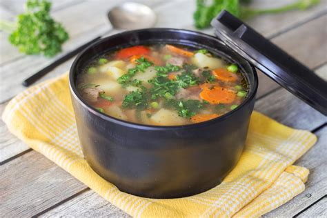 best vegetable beef soup recipe yummy addiction
