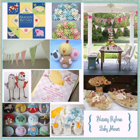 How To Prepare Nursery Rhyme Baby Shower Baby Shower Ideas Nursery Rhymes Baby Shower Decorations