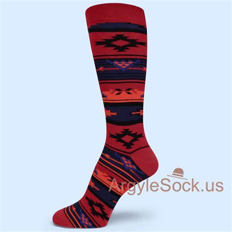 geometric pattern socks other men s dress casual socks groomsmen socks gift