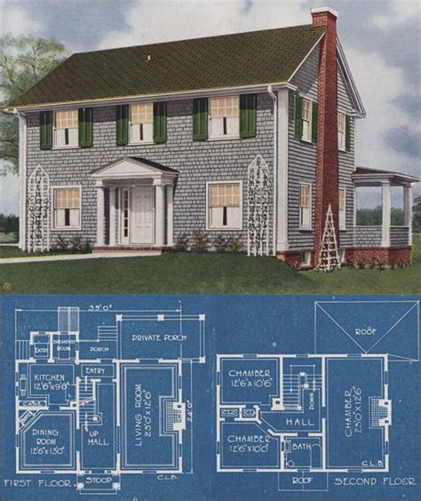 American Colonial House Plans by Beautiful Coloring And Nooks On
