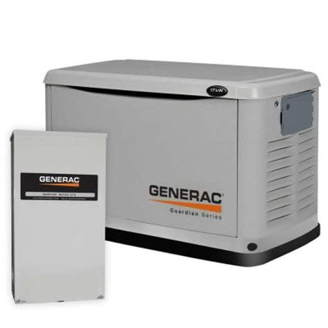 generac 17 000 watt air cooled automatic standby generator