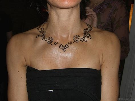 choker tattoo 50 henna neck tattoos