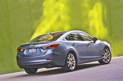 mazda usa review mazda6 grand touring and i sport wired