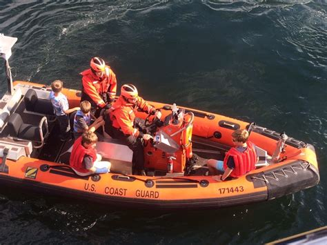 sea fox boats cost six rescued from burning boat northwest yachting