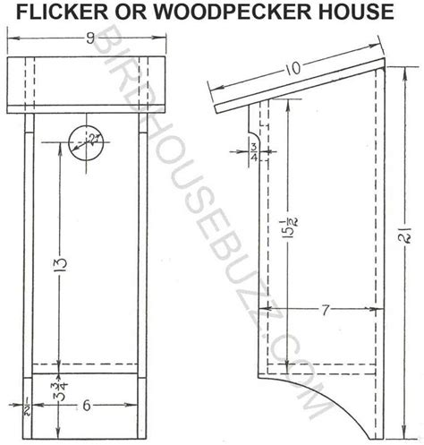 build wooden downy woodpecker birdhouse plans plans