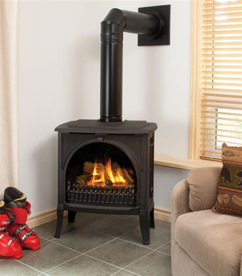 Free Standing Gas Log Fireplace by South Island Fireplace Valor Freestanding Gas Fireplaces