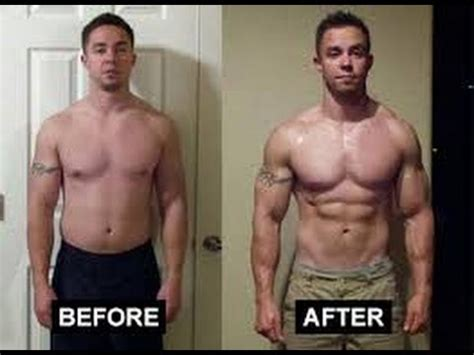 testosterone before and after testosterone side effects youtube