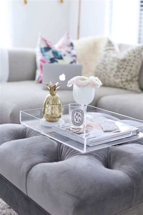 how to decorate an ottoman coffee table 25 best ideas about ottoman coffee tables on pinterest