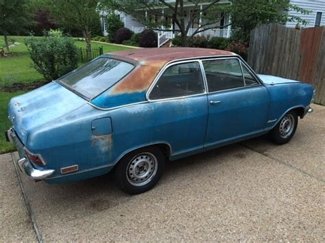 1969 Opel Kadett For Sale 1969 Opel Kadett Sl California Car Great Project