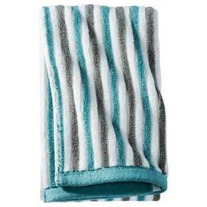 striped bath towel threshold stripe bath towels target