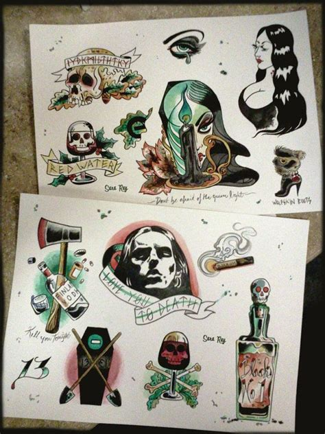 type o negative tattoo best 25 flash ideas only on