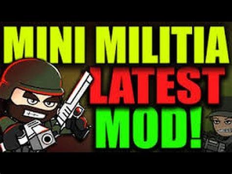 full version mini militia hack mini militia get apk version youtube