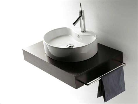 Badezimmer Unterschrank Mit Aufsatzwaschbecken by Waschtisch Mit Aufsatzwaschbecken Rund Keramik