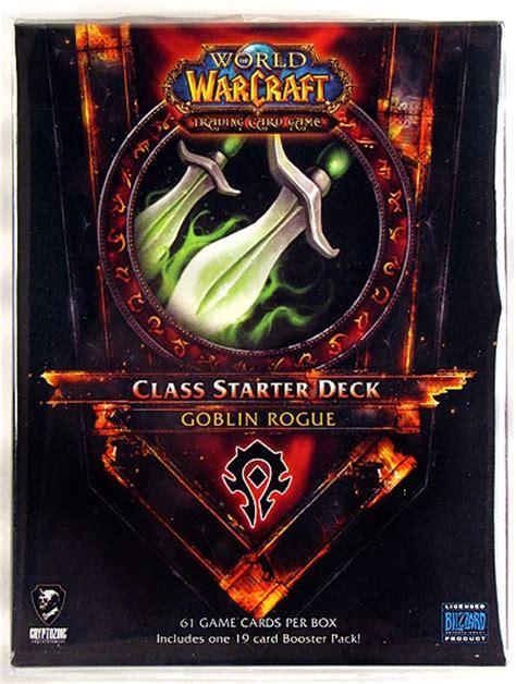 Rogue Starter Deck by World Of Warcraft 2011 Class Starter Deck Horde