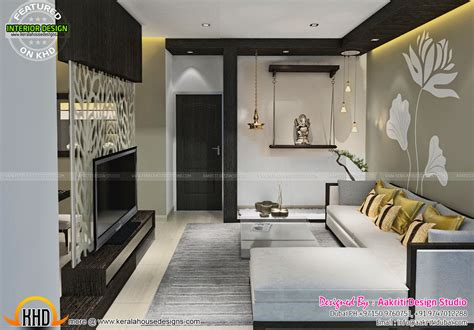 Home Interior Designers In Thrissur by Living Room Designs Kerala Style Interior Design In