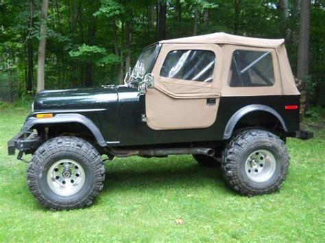 1976 Jeep Cj7 For Sale Purchase Used 1976 Jeep Cj7 Fiberglass Tub Completely