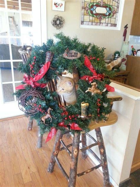 cowboy christmas crafts