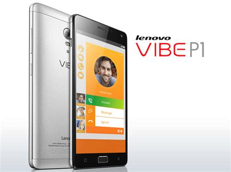 Hp Lenovo Vibe Baterai 5000mah lenovo vibe p1 with 5000mah battery launched in the philippines specs price and features