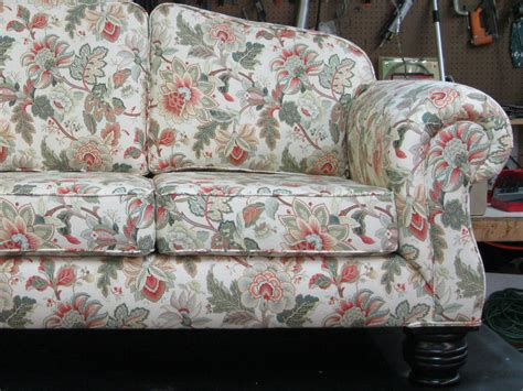 floral couches taylor upholstering company savannah