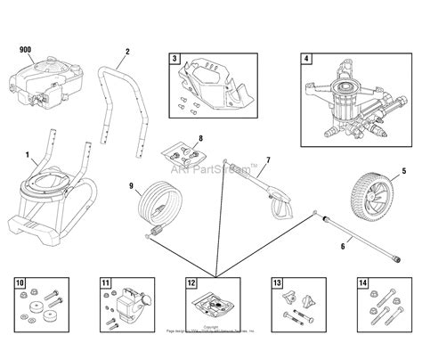 troy bilt pressure washer diagram briggs and stratton power products 020568 01 2 800 psi